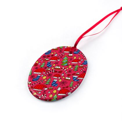Christmas Ornaments - Christmas Pattern (colour)