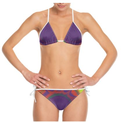 Bikini - Colourful Spiked Ball