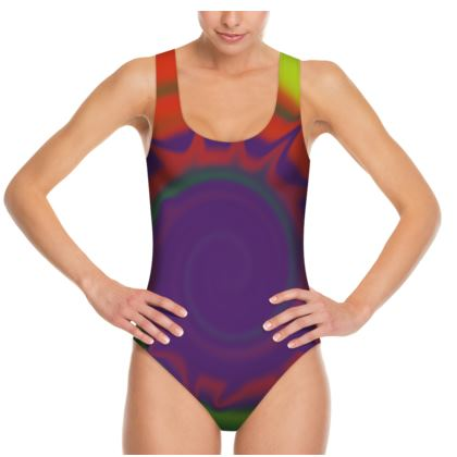 Swimsuit - Colourful Spiked Ball