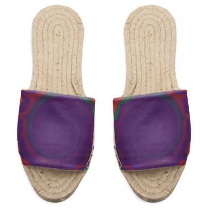 Sandal Espadrilles - Colourful Spiked Ball