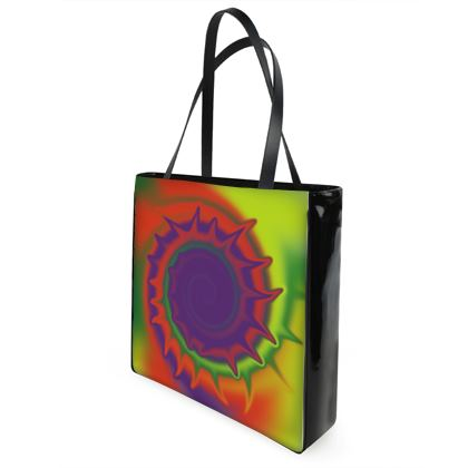 Beach Bag - Colourful Spiked Ball