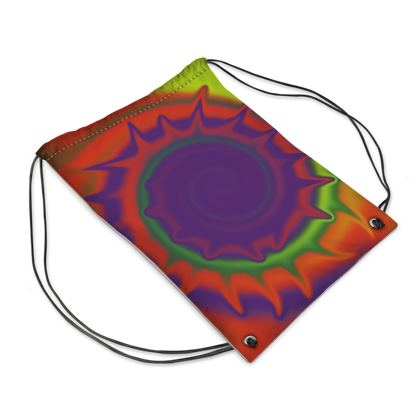 Swim Bag - Colourful Spiked Ball