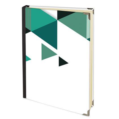 Address Book - Geometric Triangles Jade