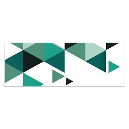 Sarong - Geometric Triangles Jade