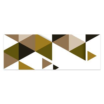 Sarong - Geometric Triangles Orange