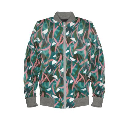 Underwater Tropical Bomber Jacket