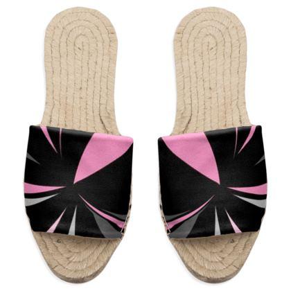 Eleganti sandali estivi linea riflessi mare