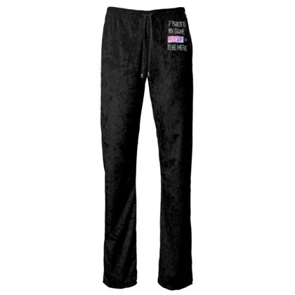 Womens Trousers - I Paused My PC Game To Be Here