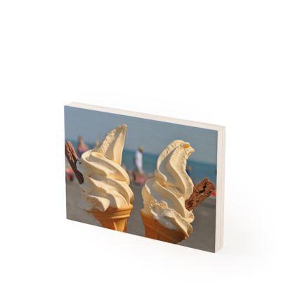 Wood Prints - Ice Cream