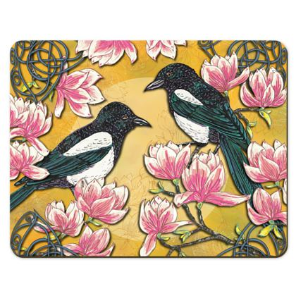 Magpies & Magnolias Placemats