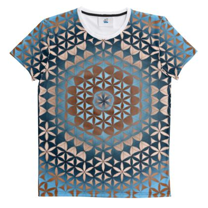 Cut And Sew All Over Print T Shirt 41