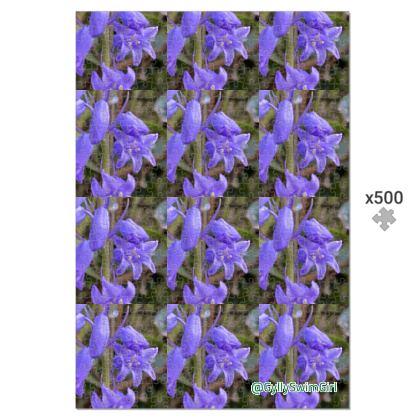 Jigsaw - bluebells on the Coastpath - 500 pieces, in a presentation tin