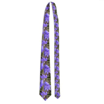 Tie - bluebells on the coastpath
