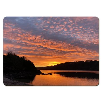 Large Placemats - Ferry Boat Sunrise x 6
