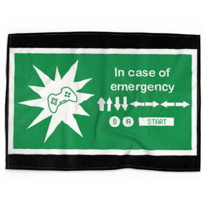 Tea Towels - In Case of Emergency - Use Cheat Code