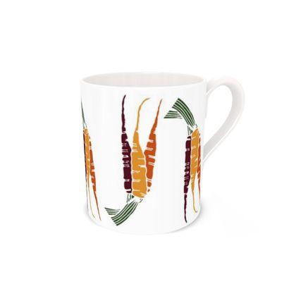 Carrot Bone China Mug