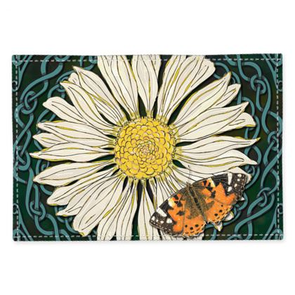 Daisy and Butterfly Fabric Placemats