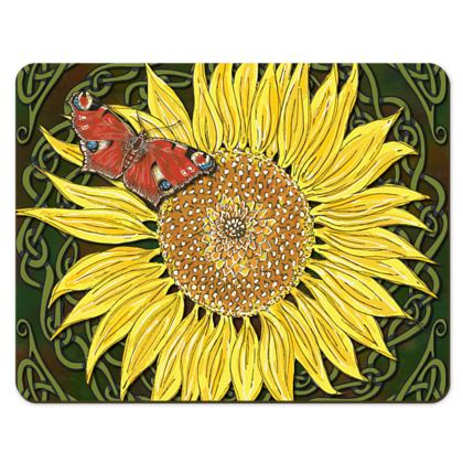 Sunflower and Butterfly Placemats