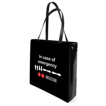 Beach Bag - In Case of Emergency - Use Cheat Code 2