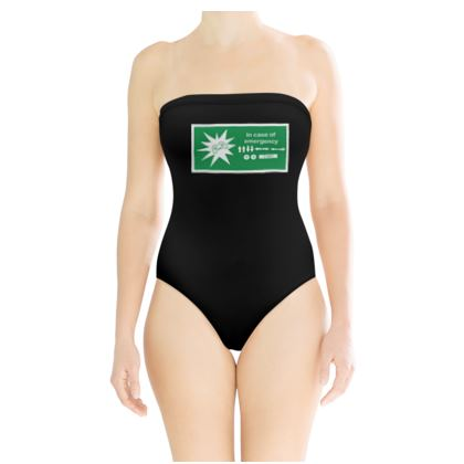 Strapless Swimsuit - In Case of Emergency - Use Cheat Code