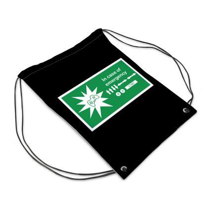 Swim Bag - In Case of Emergency - Use Cheat Code