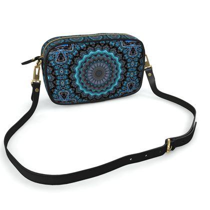 Blue Mandala Camera Bag