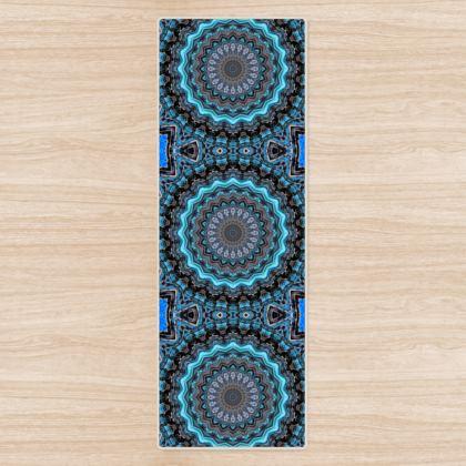 Blue Mandala Yoga Mat