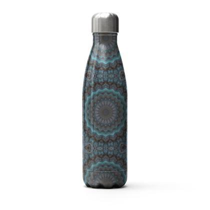 Blue Mandala Stainless Steel Thermal Bottle