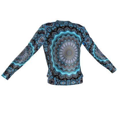 Blue Mandala Sweatshirt