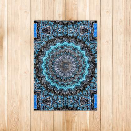 Blue Mandala Rugs