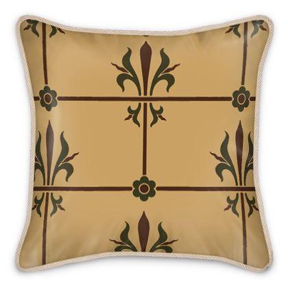 Silk Cushions - Insignia Pattern 1
