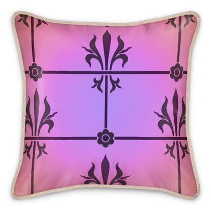 Silk Cushions - Insignia Pattern 2