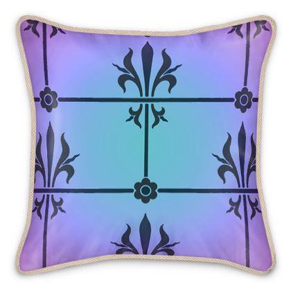 Silk Cushions - Insignia Pattern 4