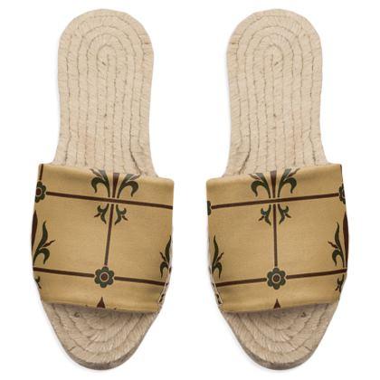 Sandal Espadrilles - Insignia Pattern 1