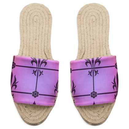 Sandal Espadrilles - Insignia Pattern 2