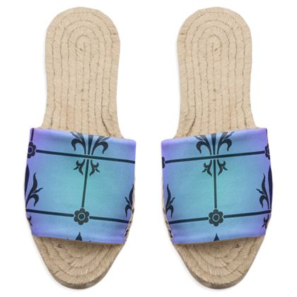 Sandal Espadrilles - Insignia Pattern 4