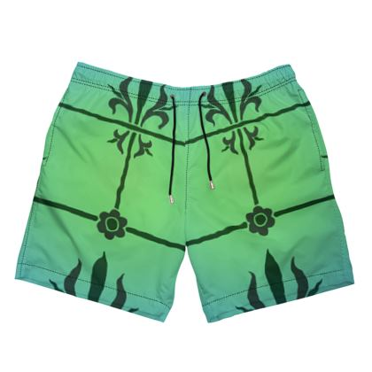 Mens Swimming Shorts - Insignia Pattern 5