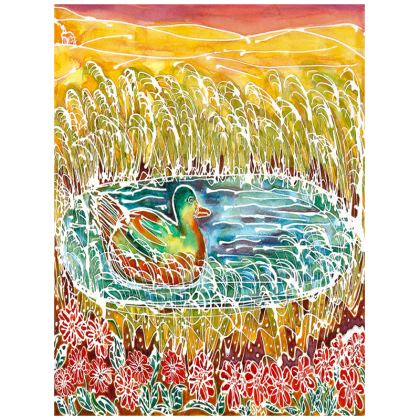 Bird on the Water large tray (43x33cm)