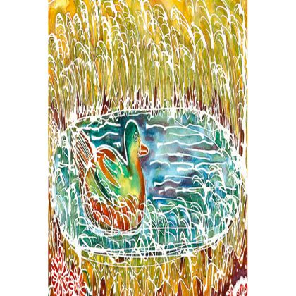 Bird on the Water small tray (20x11.5cm)