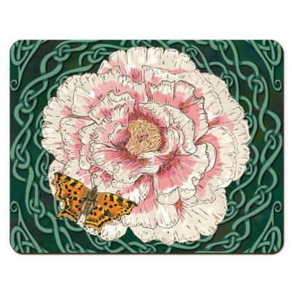 Peony and Butterfly Placemats