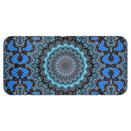 Blue Mandala Blanket Scarf