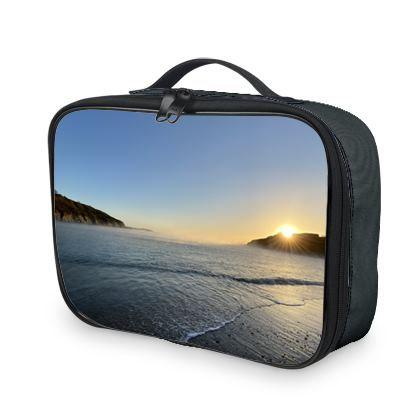 Thermal Linch/Picnic Bag - Misty Maenporth mornings