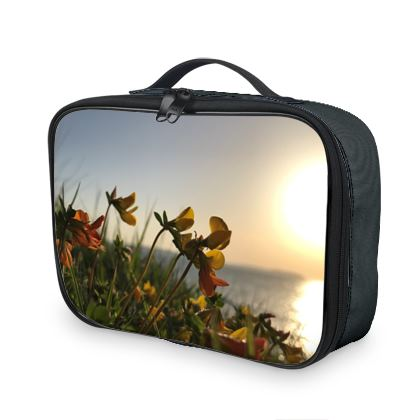 Thermal lunch/picnic bag - flowers in the sunrise