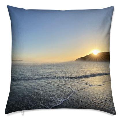 Cushion - Misty Maenporth Morning