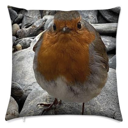 Cushion - Robins of the Helford