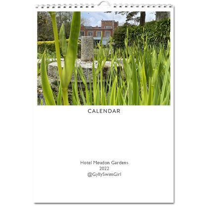 2022 Calendar - Hotel Meudon Garden views