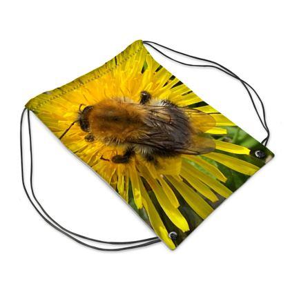 Bumblebee on the Dandelion Neck Gaiter