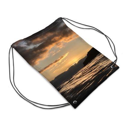 Moody morning skies Swim Bag