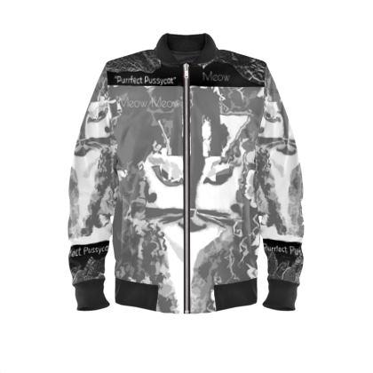 Ladies Bomber jacket Purrfect Pussycat range