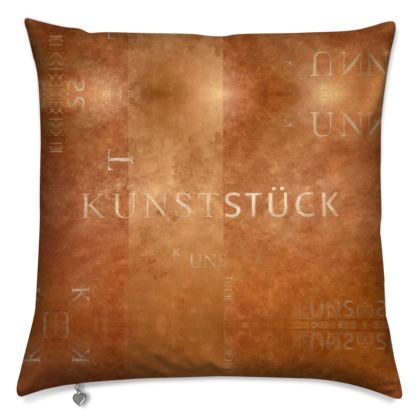Designer Kissen KUNSTSTÜCK